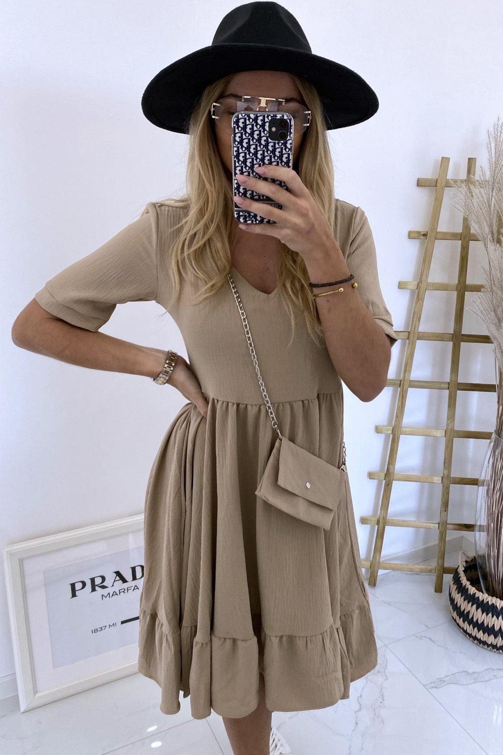 Šaty Marietta/Beige