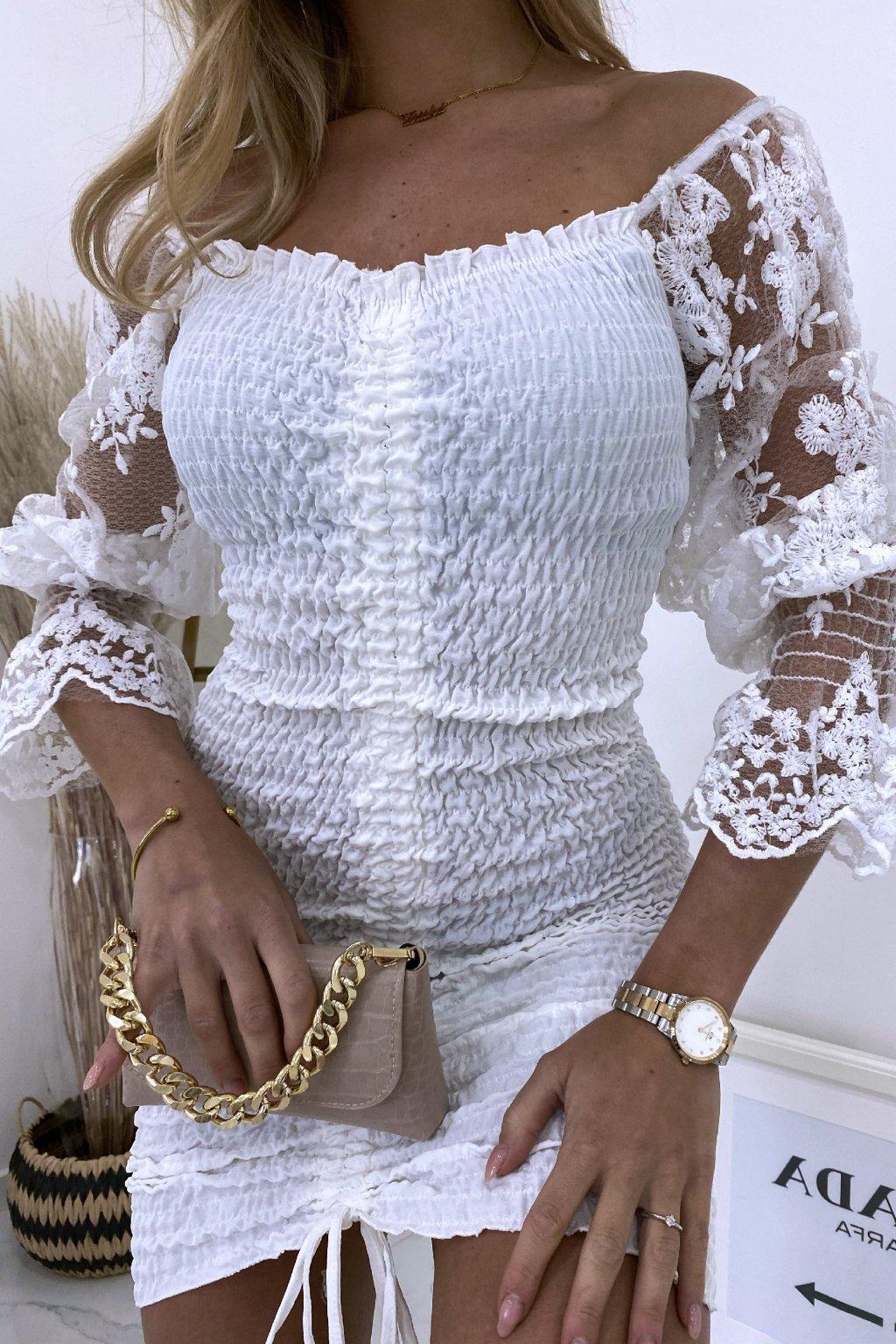 Šaty Casandra/White