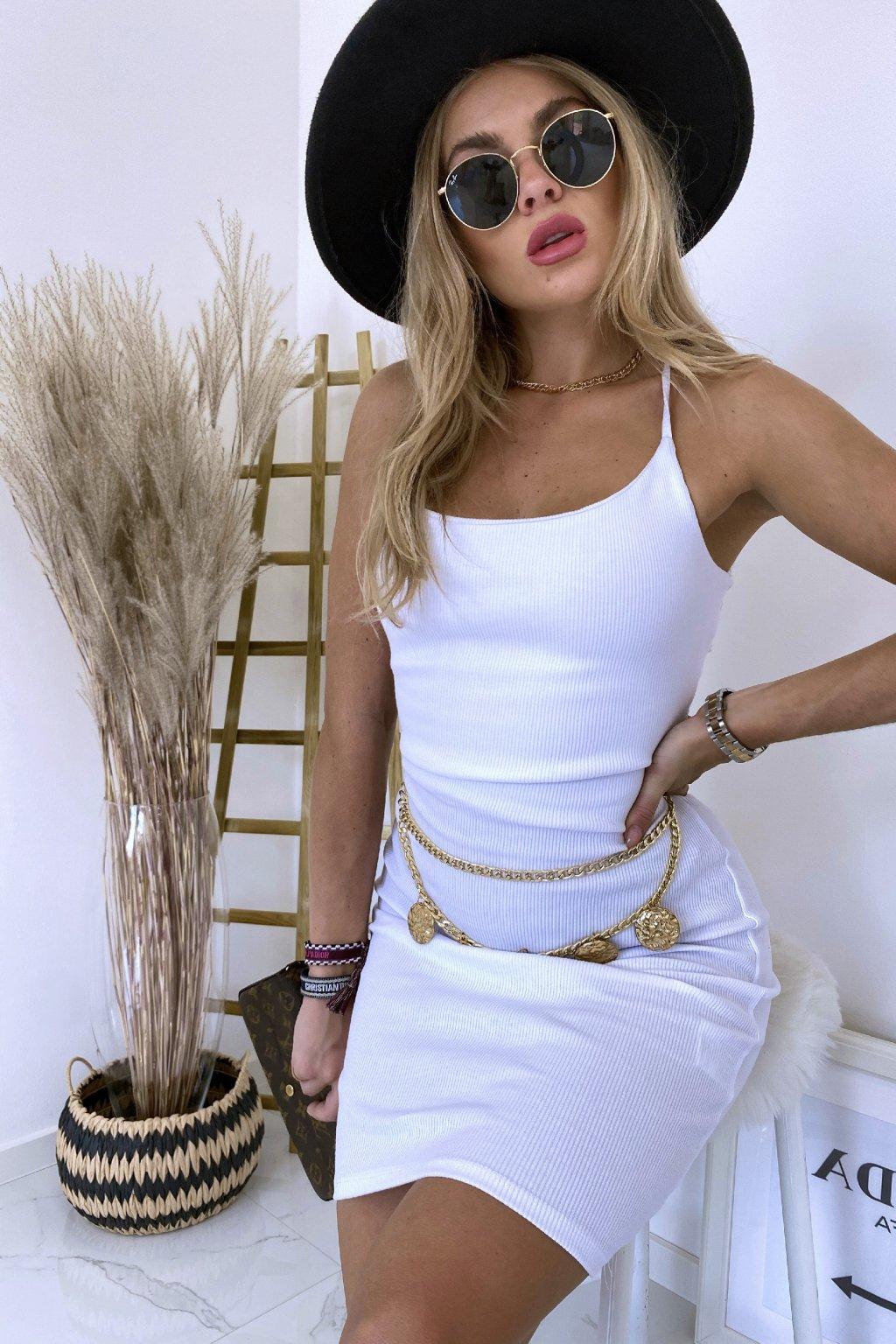 Sexy šaty Glam/White