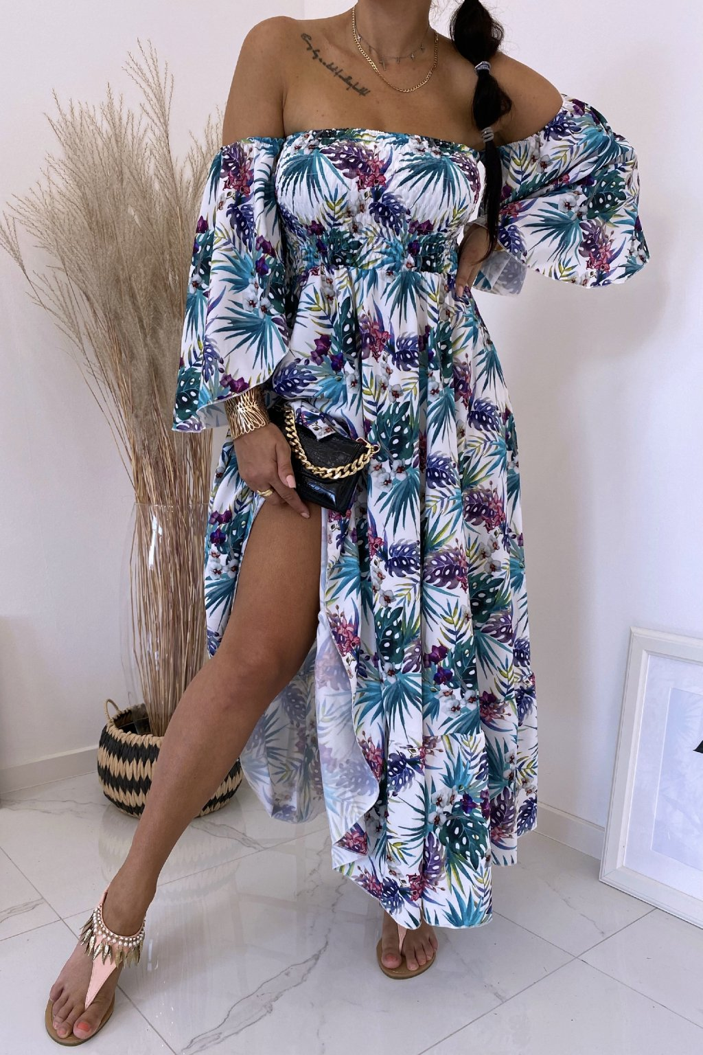 Maxi šaty Los Palmos