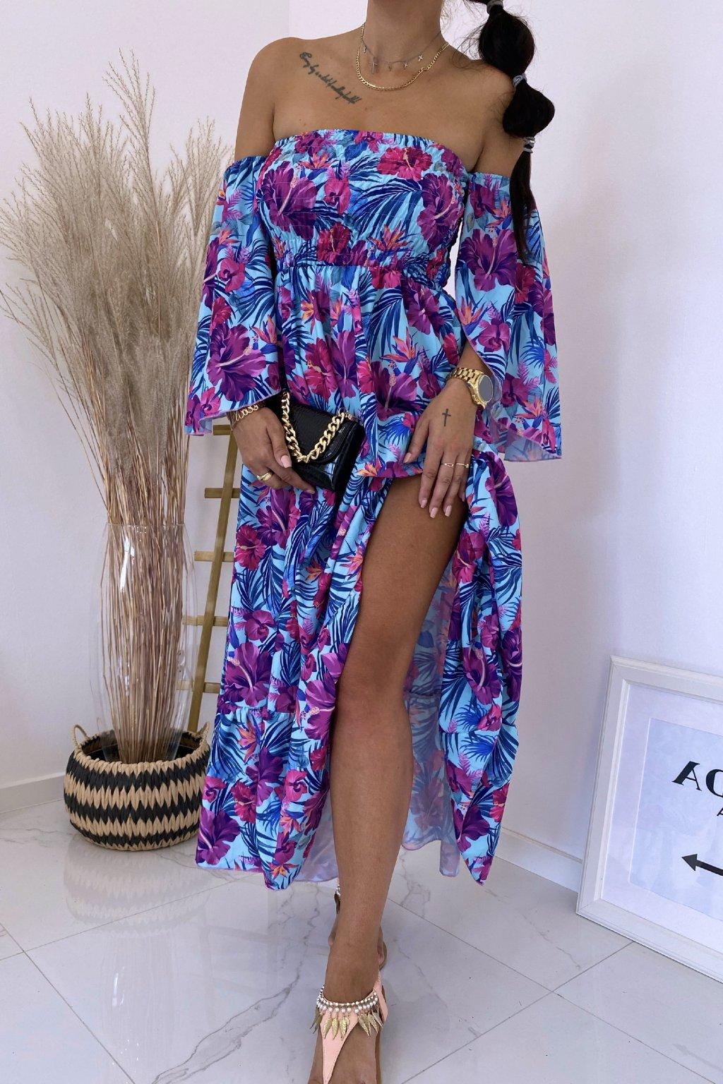 Maxi šaty Summer Flower