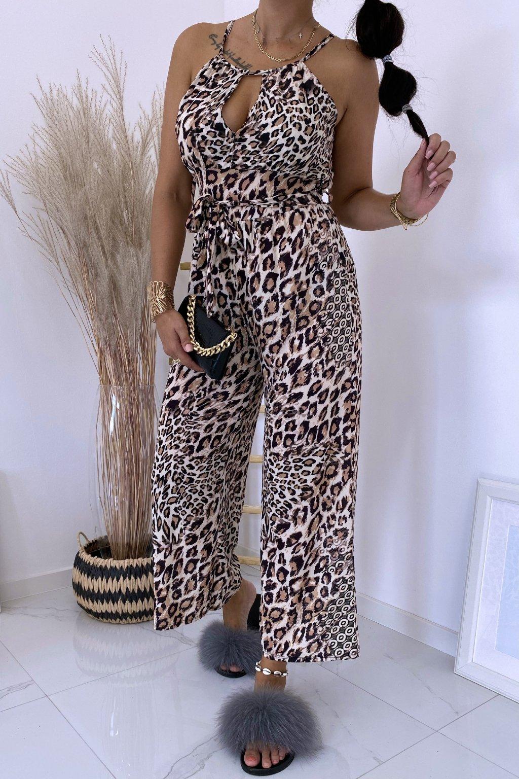 Overal Latino Leopard
