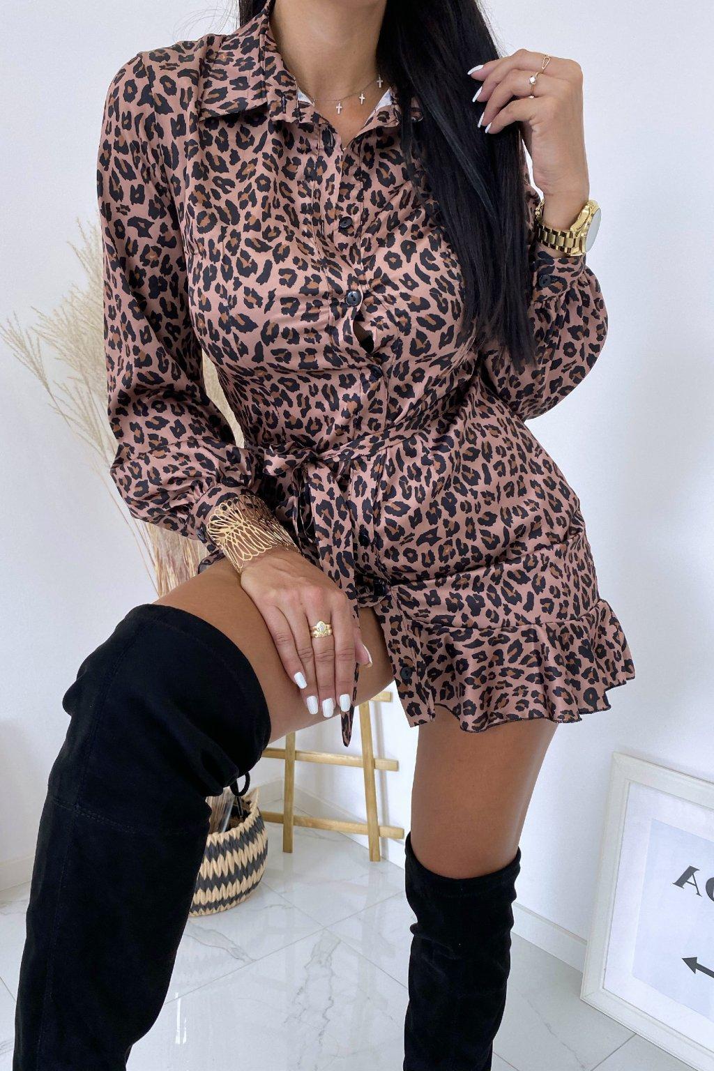 Košilové šaty Gepard Evasion