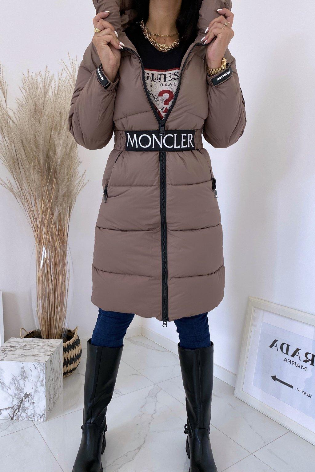 Zimní hnědá bunda Flawless