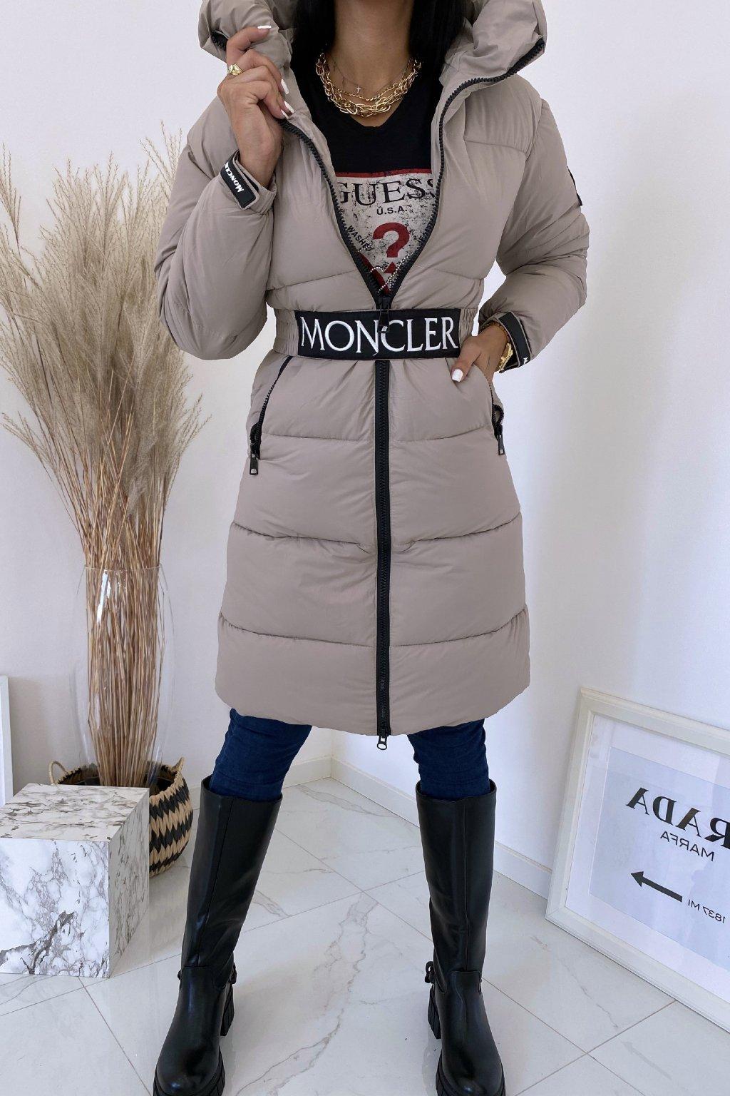 Zimní šedá bunda Flawless