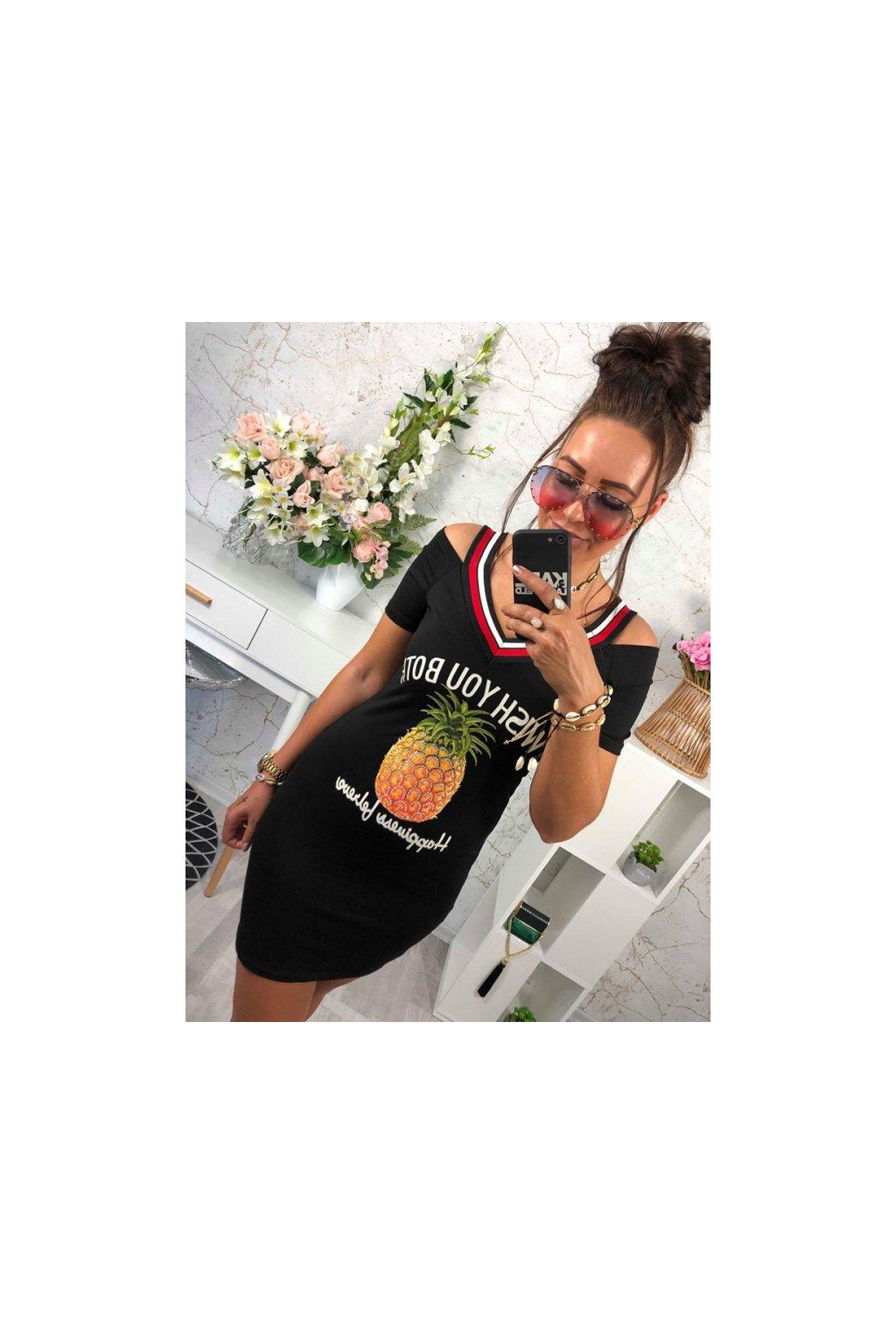 Šaty pineapple