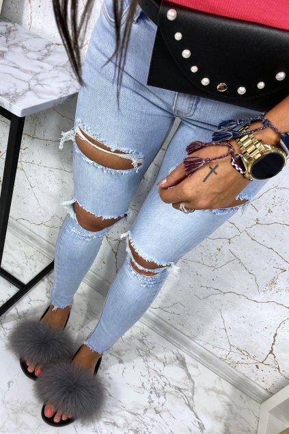 Super trhané džíny Suzi