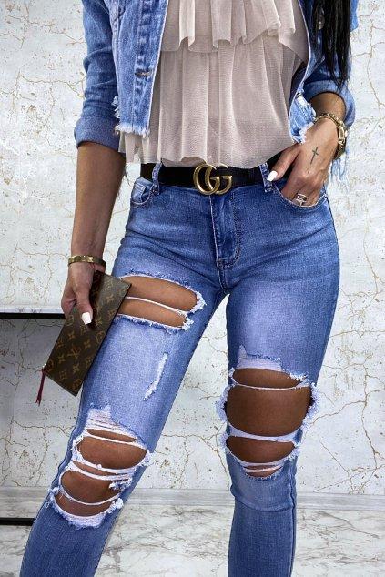 Trhané TOP džíny