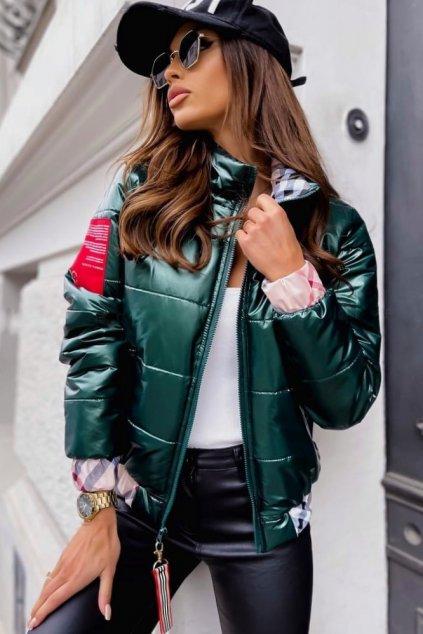 Zelená bunda/bomberka Inspiration