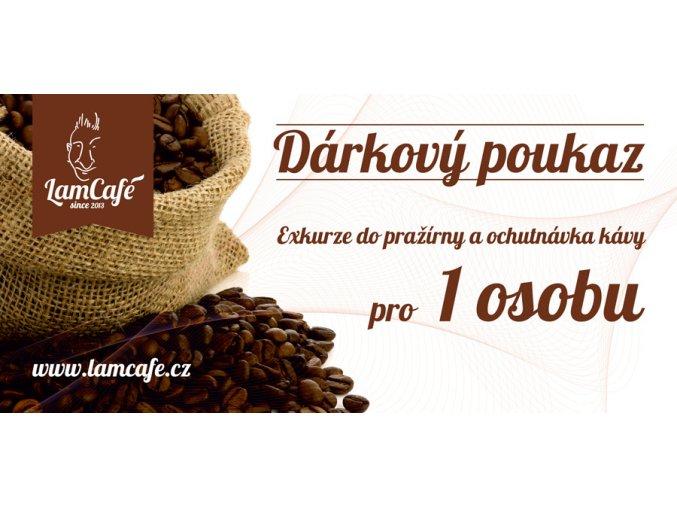 darkovy poukaz exkurze do sveta kavy 1 osoba