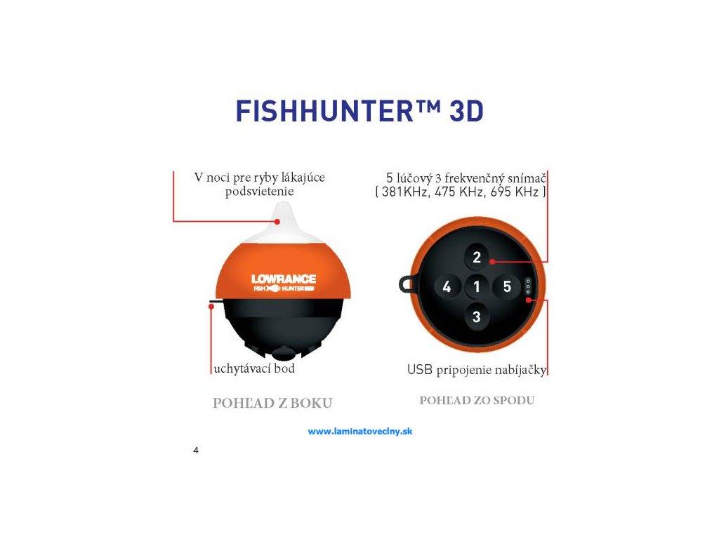 65ba1cea7 Lowrance FishHunter 3D - Laminátové člny