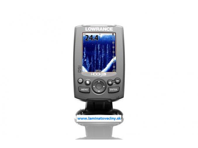 LOWRANCE Hook-3x DSI sonar so sondou 455/800kHz