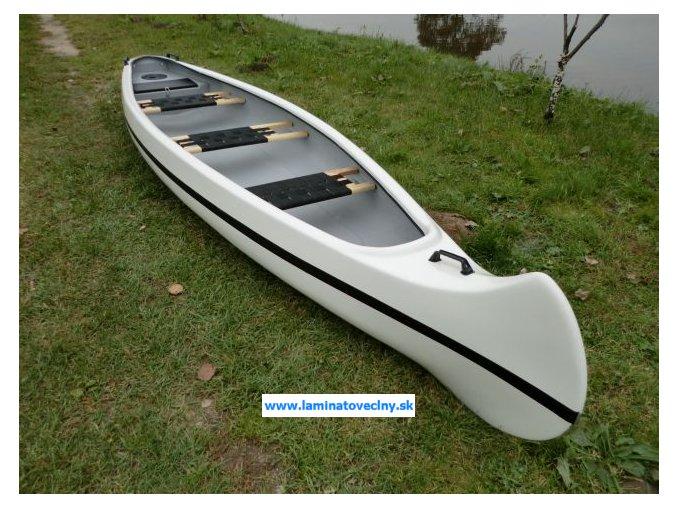 Classic MOTO 420  klasické kanoe s možnosťou použitia motora