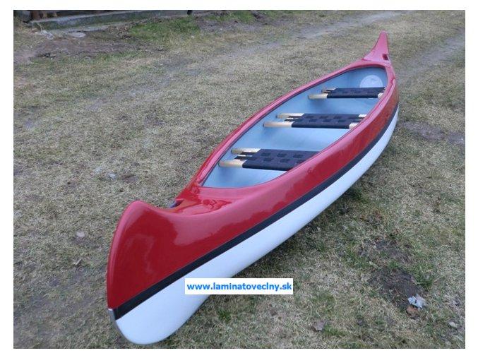 Classic 420  klasické kanoe pre 2-3 osoby