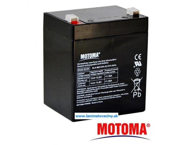 Akumulátor MOTOMA 12V/4,5 Ah