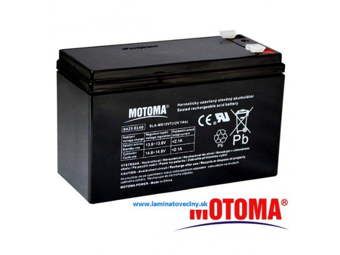 Akumulátor MOTOMA 12V/7Ah