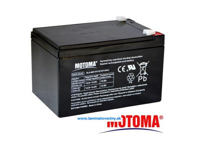 Akumulátor MOTOMA 12V/12Ah