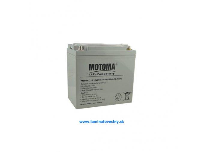 Akumulátor MOTOMA LiFePO4 12V/60Ah