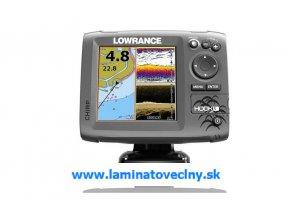 LOWRANCE Hook-5  Chirp/DSI sonar/GPS