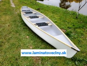 Moto 420  kanoe pre 3 s možnosťou motora