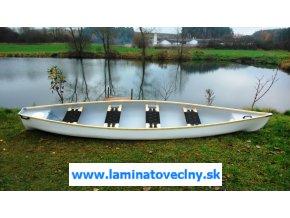 Moto 460  kanoe pre 3-4 osoby s možnosťou elektromotora