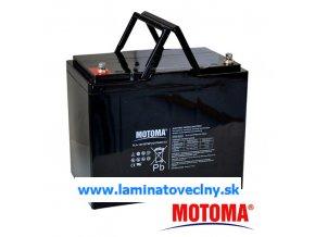 Akumulátor MOTOMA 12V/75Ah pre el. motory