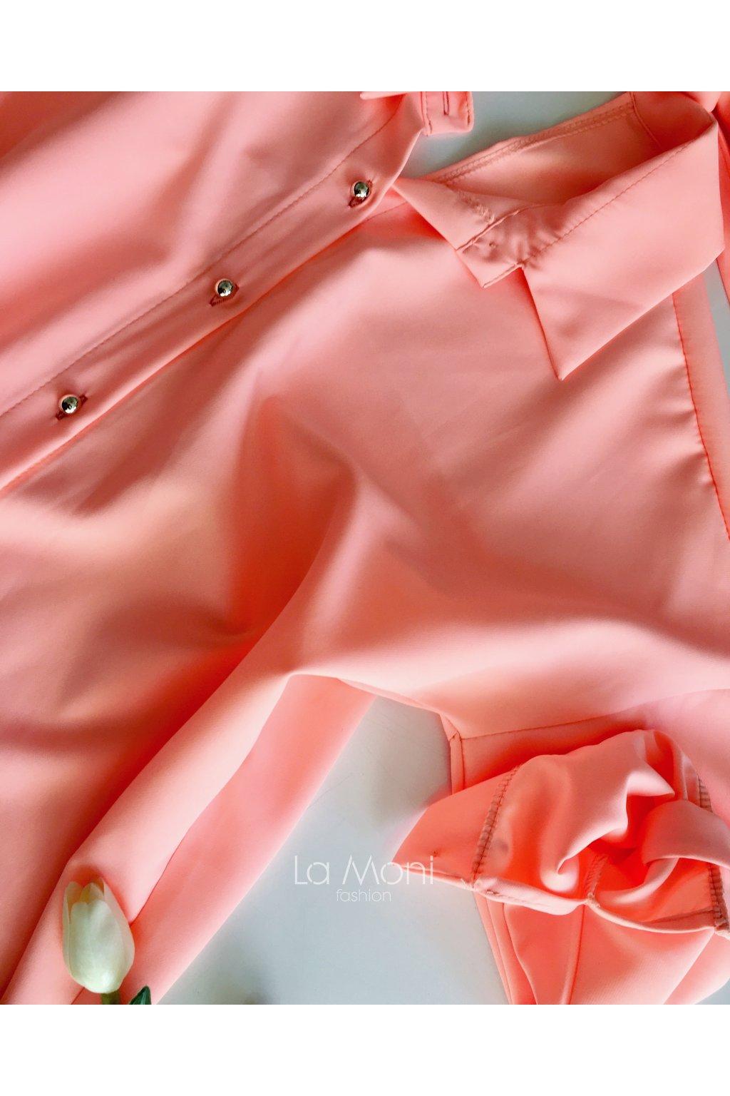 Elegantní košile s mašlí na zádech - LA MONI FASHION 8dcb6bf43d