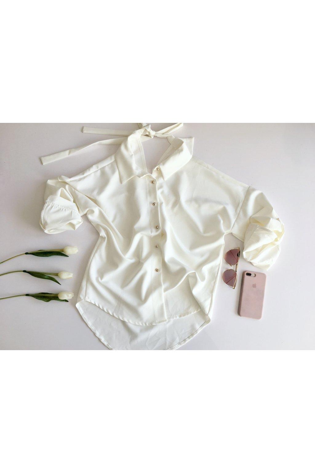 Elegantní košile s mašlí na zádech · Elegantní košile s mašlí na zádech ... 2b79379600