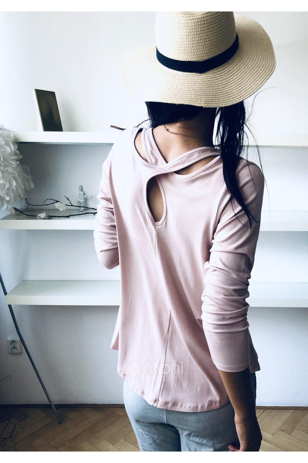 Triko bavlněné s elastanem  křížené