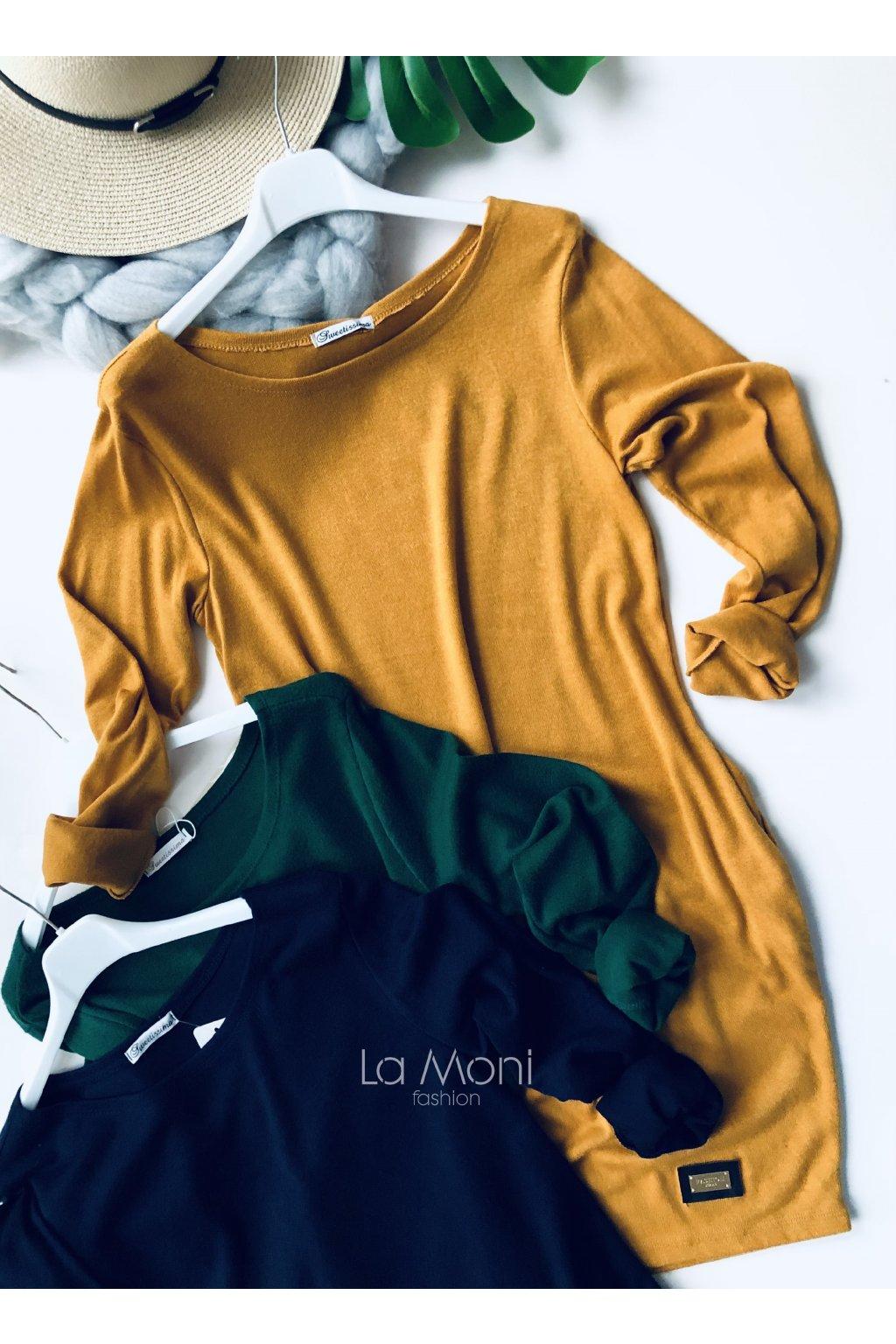 Heboučké svetříkové šaty
