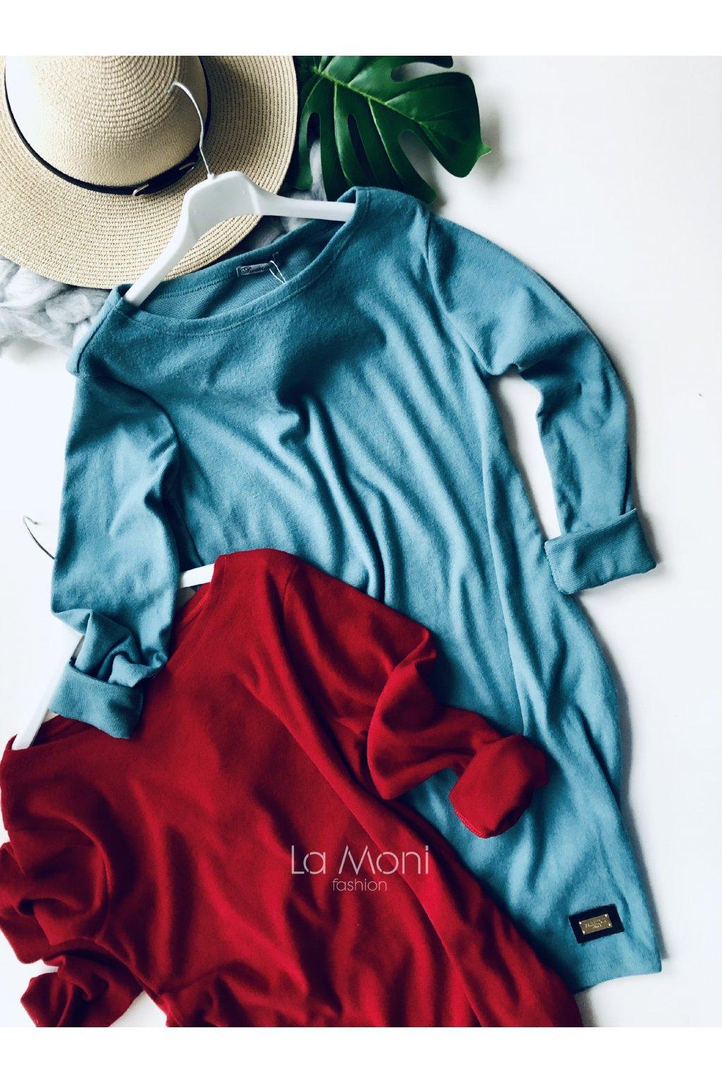 Heboučké šaty oblíbeného střihu s kapsami