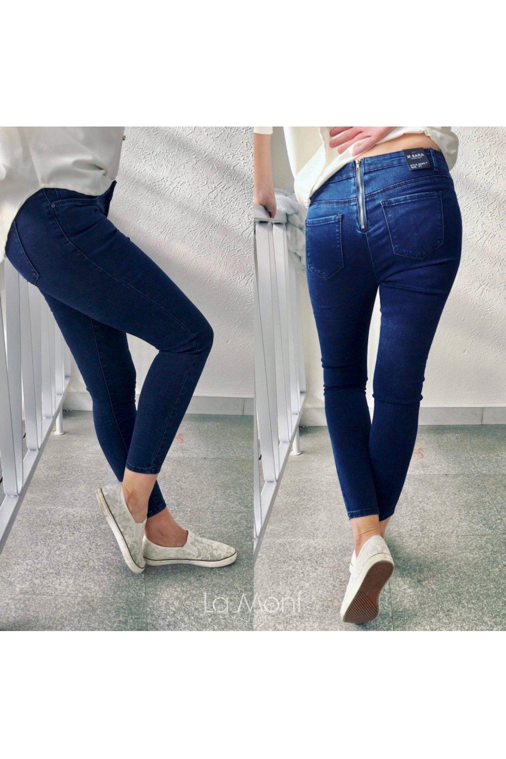 Dívčí  elastické slim džíny