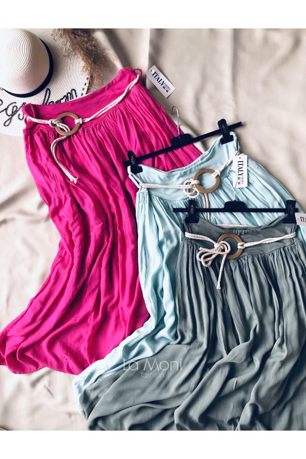 Dlouhá  lehká nádherná sukně
