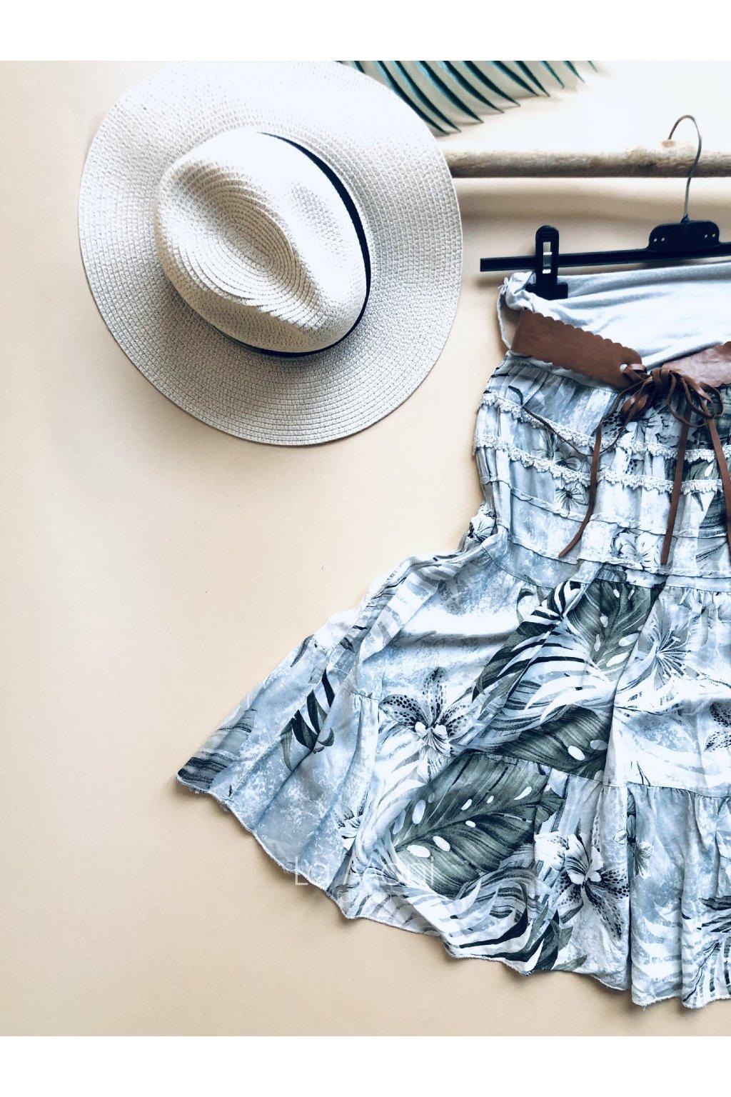 Sukně hawai  s páskem