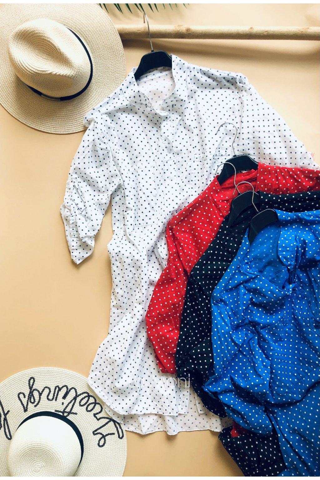 Oversize košile či šaty