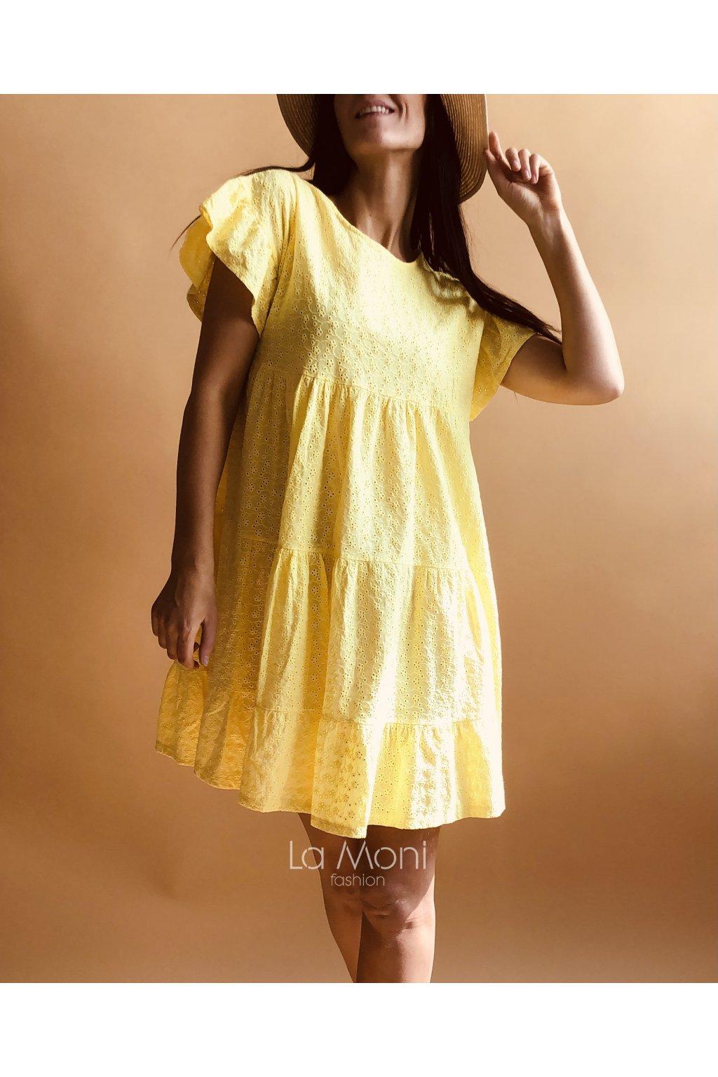 Madeira roztomilé šaty volnější střih