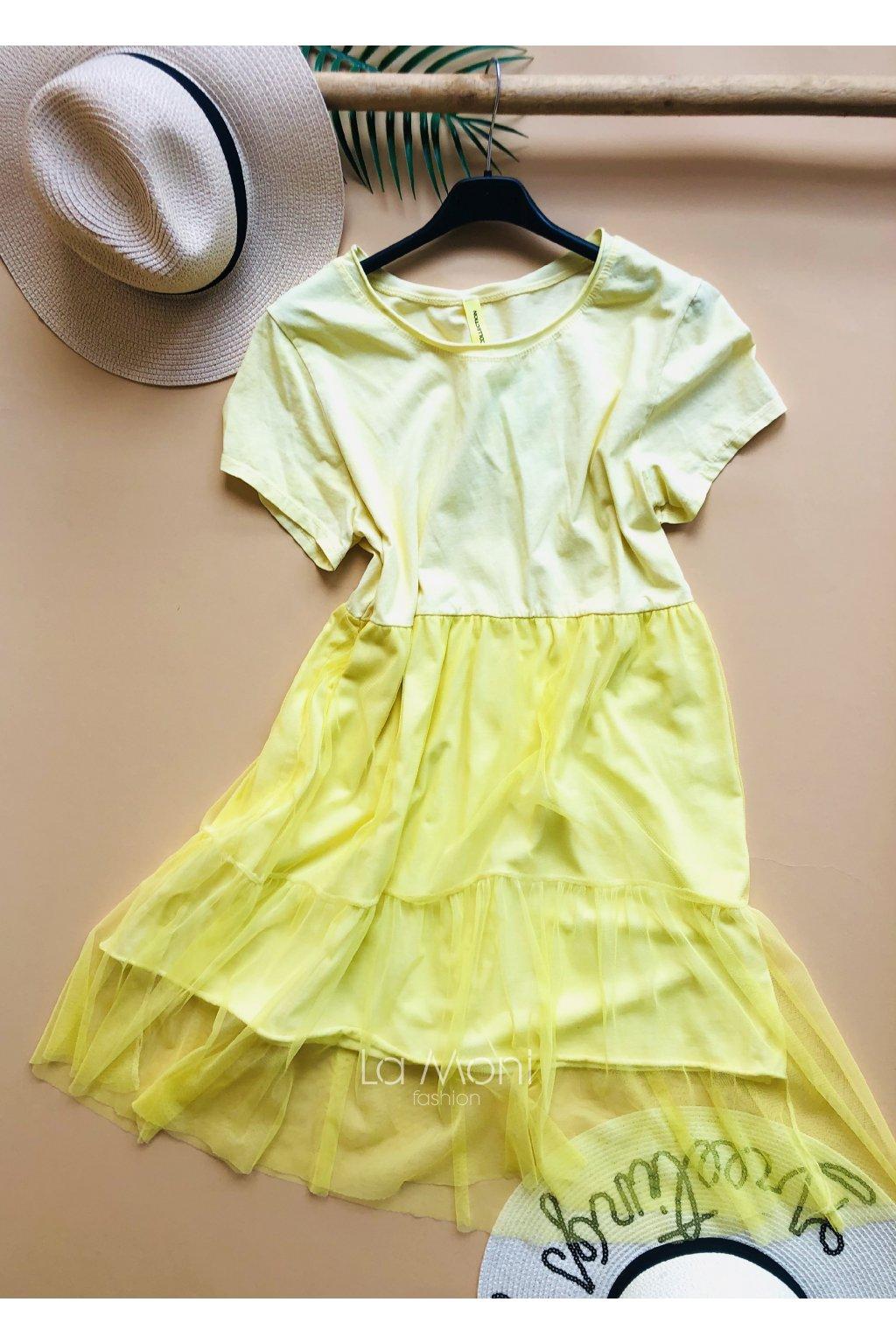 Cool stylové šifon šaty