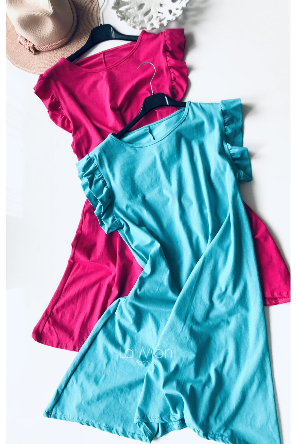 Úpletové šaty do A