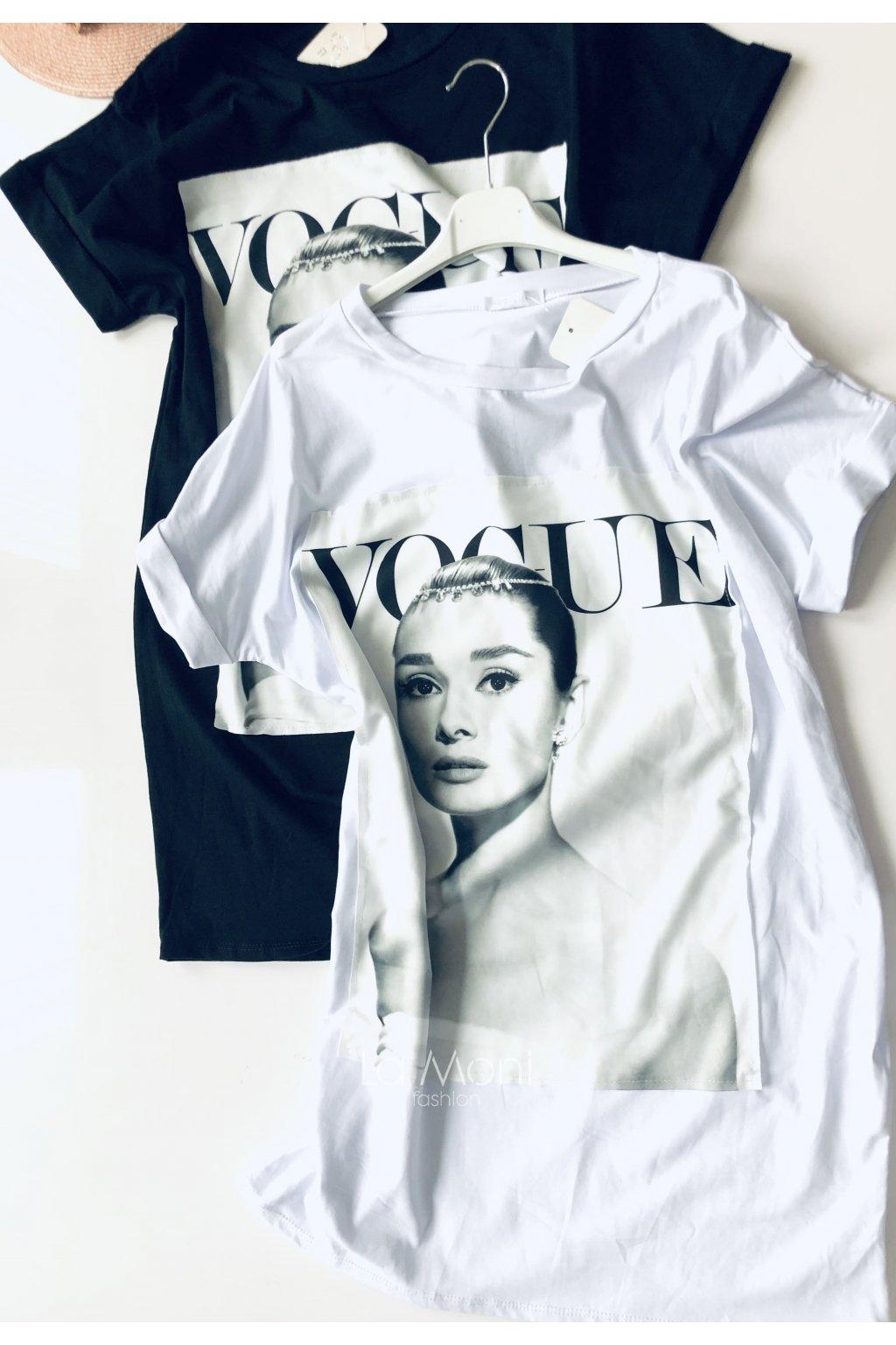 Oversize šaty - tunika Vogue