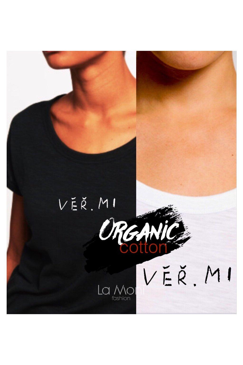 Triko organická bavlna -   Věřmi