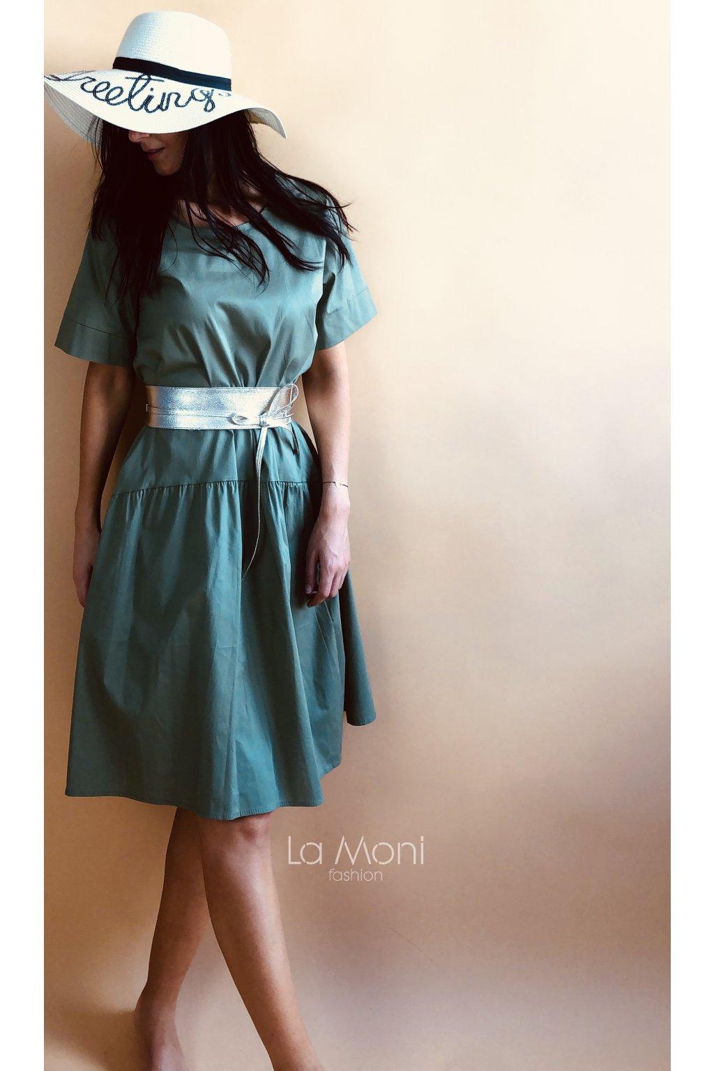 Stylové cool šaty  - volnější střih