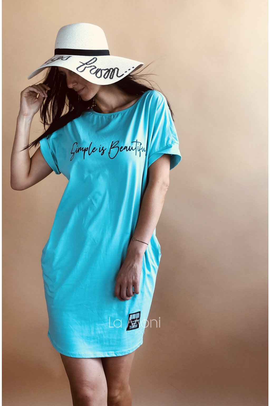 Úpletové šaty Simple  is beautiful