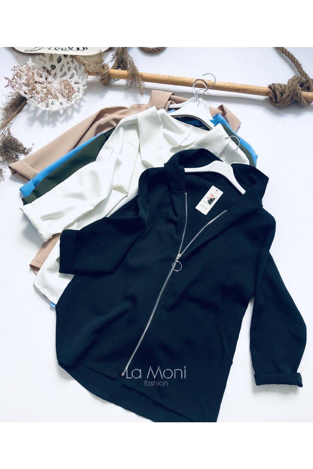 Skvělá bunda s kupucí na zip