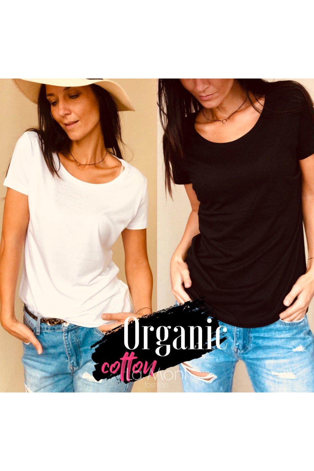 Basic triko Organická bavlna - modal