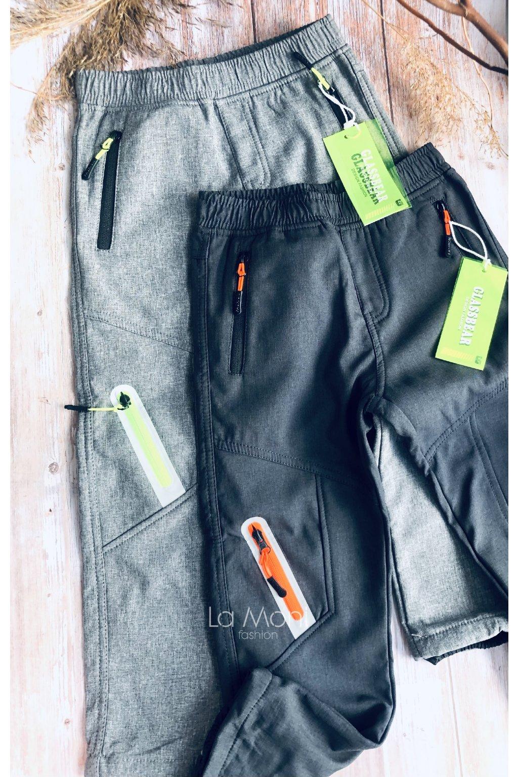 Dětské softshellové zateplné kalhoty   -BOŽÍ