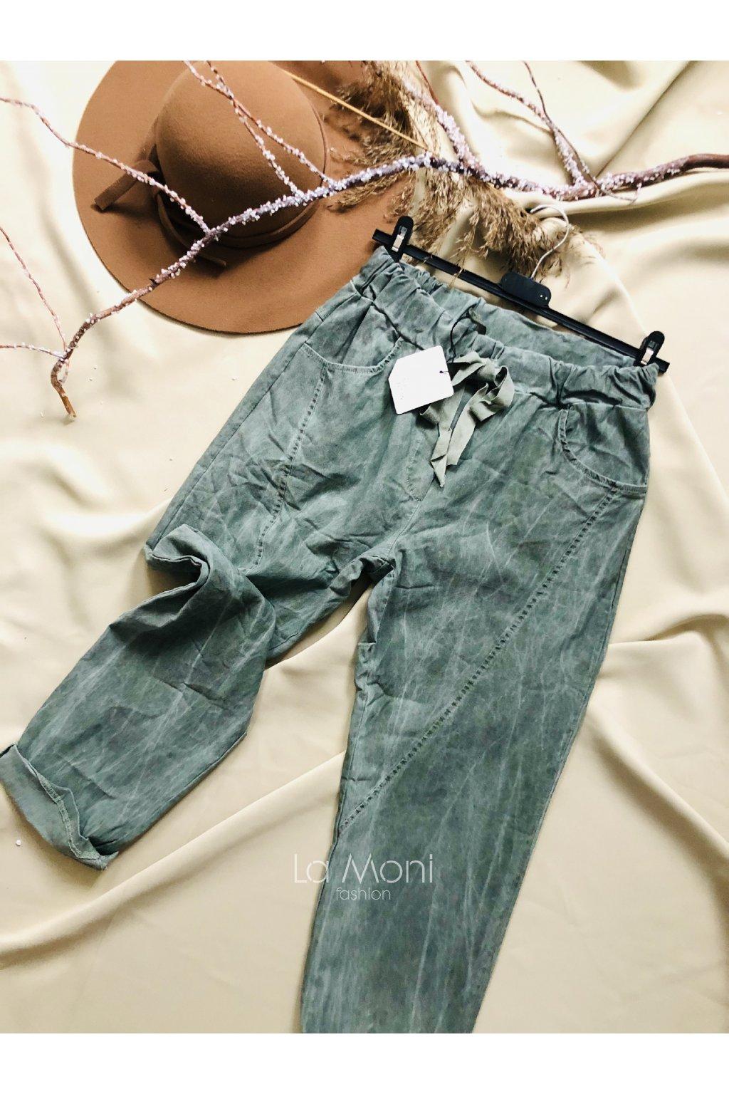 Pohodlné  pevnější buggy kalhoty