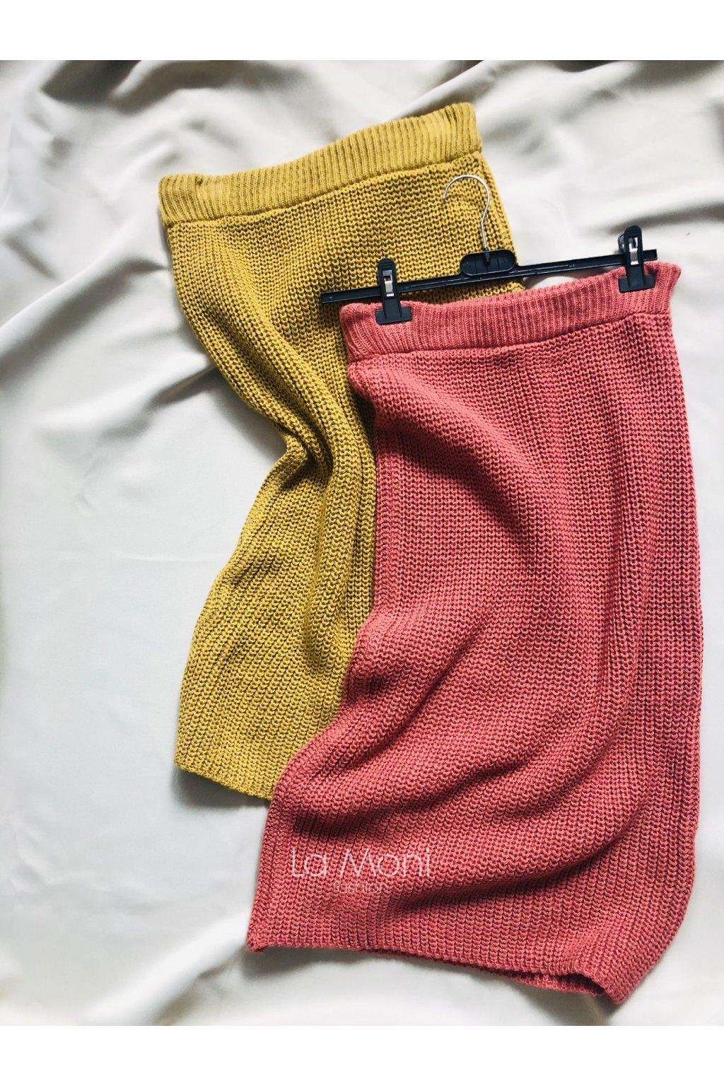 Pletená  sukně   m/l