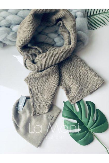 Luxusní pletená šála