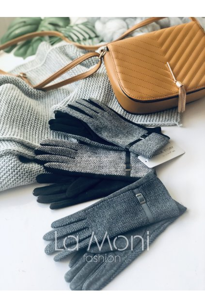 Rukavice se vzorem - elegatní styl