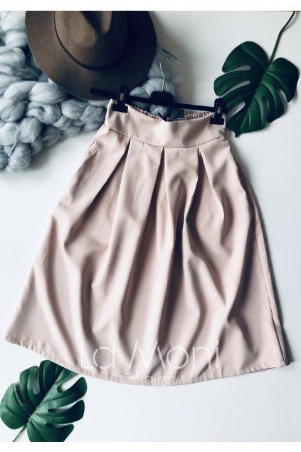 Luxusní sukně do pasu s kapsami